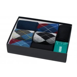 IQ SOX 7-pak sokker med mønster