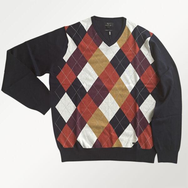 Fynch-hatton pullover i tyndt strik