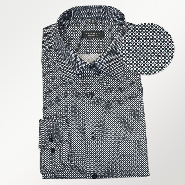 Eterna strygefri skjorte i comfort fit