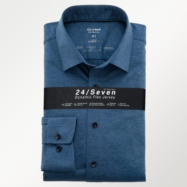 Olymp 24/seven flex jersey herreskjorte