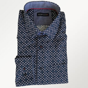Blå herreskjorte fra Berntson