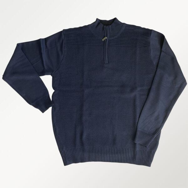 Berntson strikket cardigan i navy