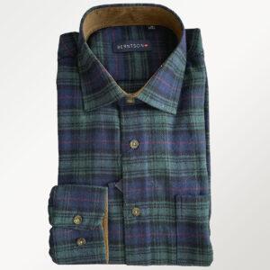 Berntson flannel skjorte